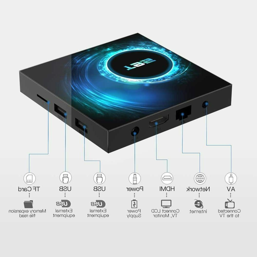 T95 Android 10 CORE TV 2.4/5G HDMI Home
