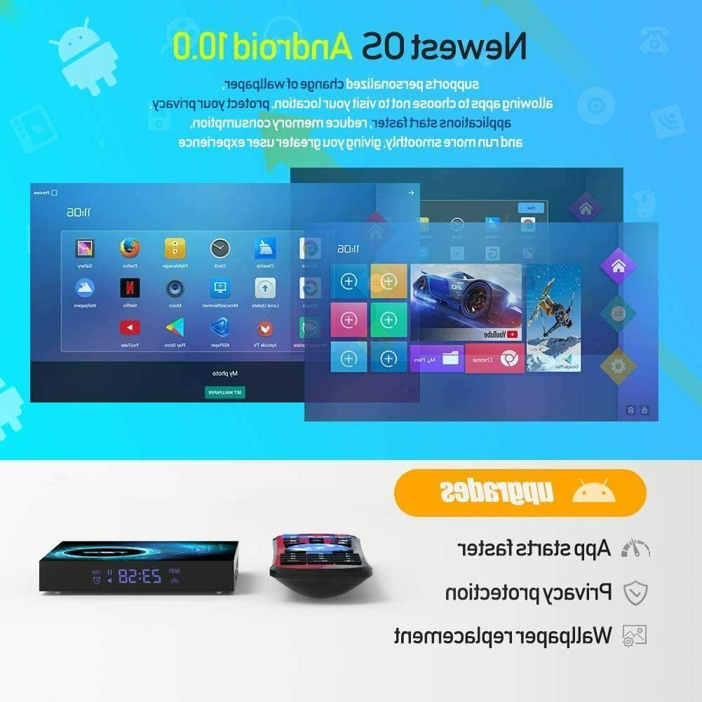 T95 4K 10 CORE 2.4/5G Home Media