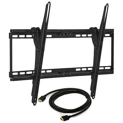 Tilting Wall Mount + 6ft HDMI Cable for LG / Vizio LED LCD 3