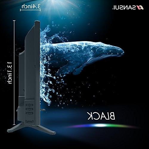 SANSUI LED TV 1080p Slim Electronics High Definition and Monitor HDTV HDMI PCA USB