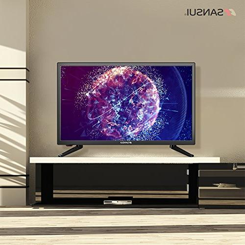 SANSUI LED TV 1080p HD 60Hz Slim High and Monitor HDTV PCA Input