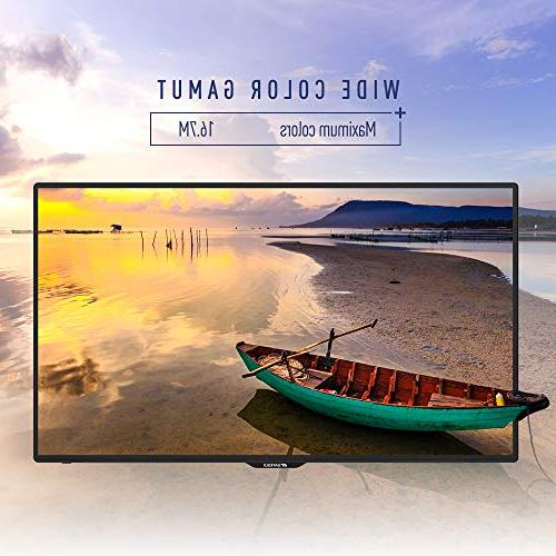 """SANSUI LED 50"""" TV with Flat TV, PCA High and Monitor 4 HDMI"""
