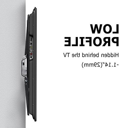 Happyjoy Fixed TV Mount 32-75 3D Plasma Strong,Max