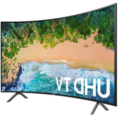 """Samsung UN65NU7300 65"""" NU7300 Curved Smart 4K UHD TV"""