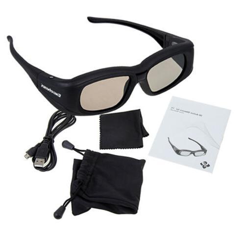 Universal 3D Glasses Active-Shutter TV M