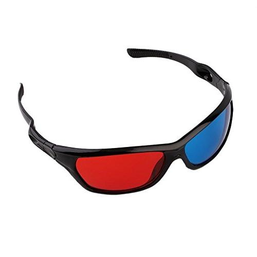 universal anaglyph 3d glasses lens