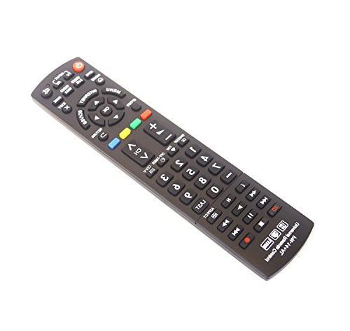 Gvirtue Universal Remote Control Compatible for TV/Viera Link/HDTV/ N2QAYB000485 N2QAYB000100