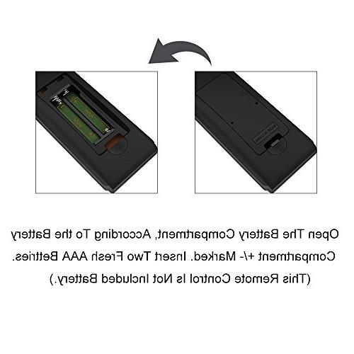 Gvirtue Universal ControlGSH-13 CompatibleReplacement Sharp TV/HDTV/ LCD/LED, GA935WJSA GB004WJSA GB118WJSA GB005WJSA