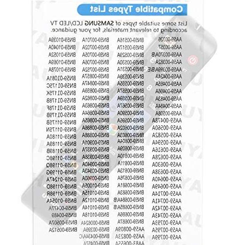 Universal Control Samsung HDTV UN60JU6400FXZA UN48JU6400F UN55JU6400F UE46EH5450 BN59-01198Q
