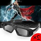 2x Active 3D Shutter Glasses Bluetooth for Epson/Sony/TCL 3D