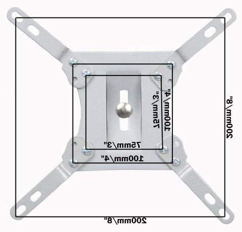 VideoSecu VESA Extender Extension for Wall Mount LED Accessory W40