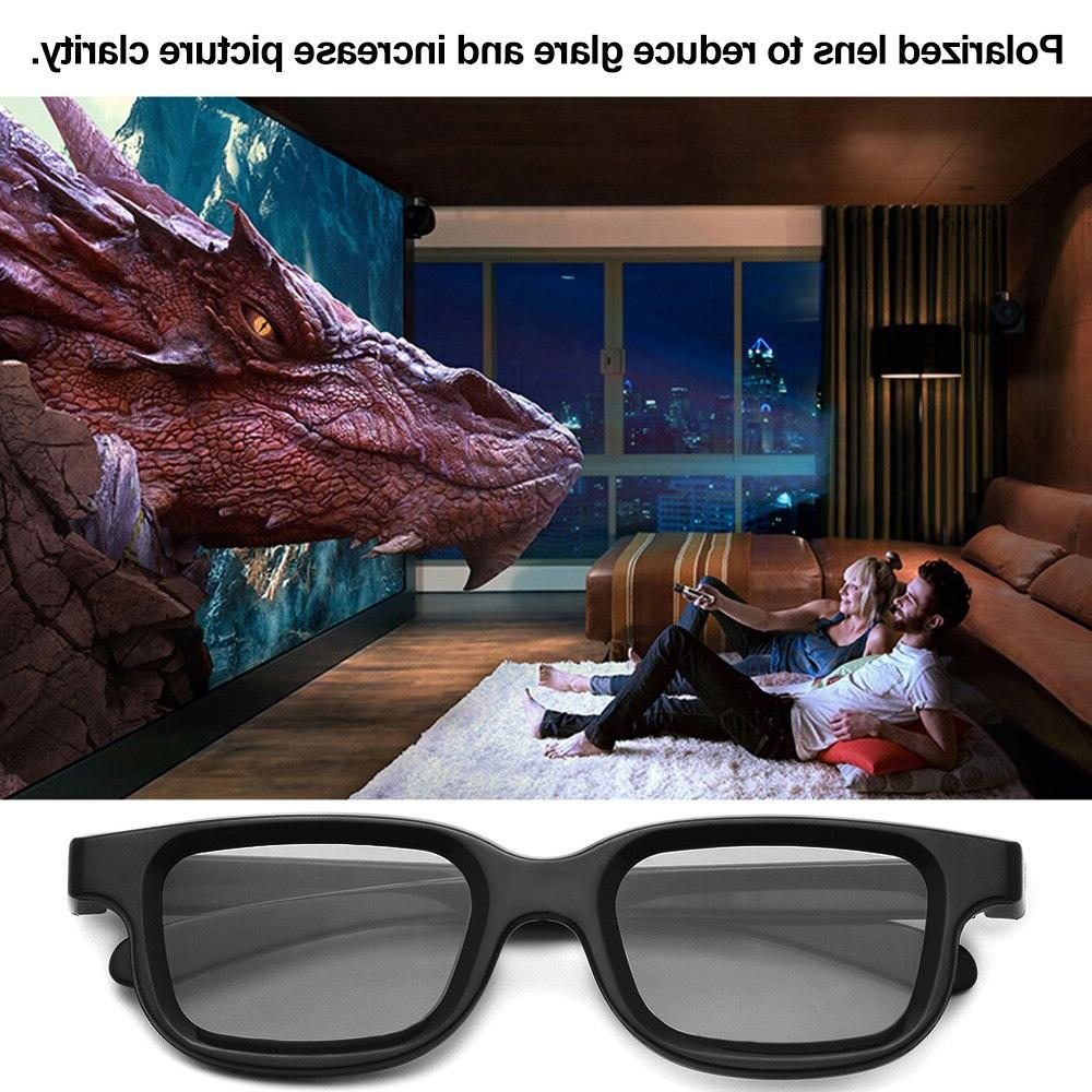 VQ163R Polarized <font><b>Passive</b></font> Glasses <font><b>3D</b></font> <font><b>TV</b></font> Real for Sony for theatre