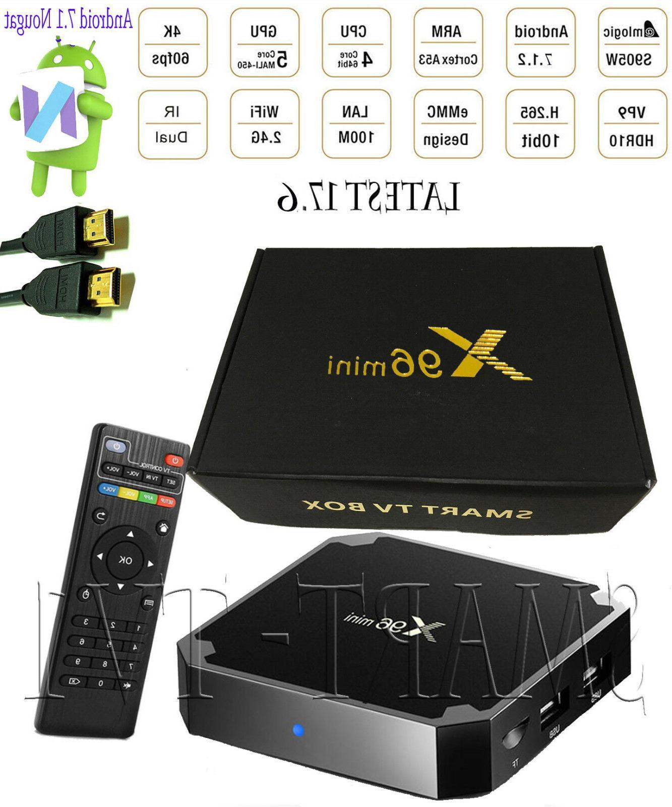 x96 mini s905w quad core wifi 4k