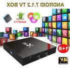 X96 S905W Android 7.1.2 Smart TV BOX Quad Core 4K 3D Films W