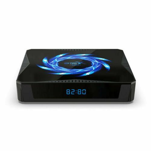 X96Q 4K Android 10 Core BOX 3D H616 Media