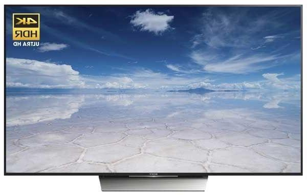 Sony XBR55X850D 55-inch 4K UHD Smart LED TV