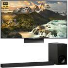 "Sony XBR65Z9D 65"" 4K HDR 3D LCD TV 3840x2160 & HTZ9F 3.1Ch D"