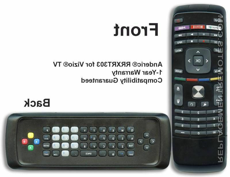 Vizio XRT303 Replacement Remote Control for Smart TV Pn: 098