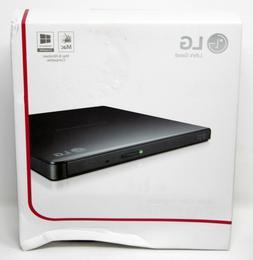 LG Storage GP65NB60 External Slim DVDRW 8X USB Black with Cy