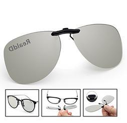Manual Assembly | Large Frame 3D Glasses Clip On Glasses For