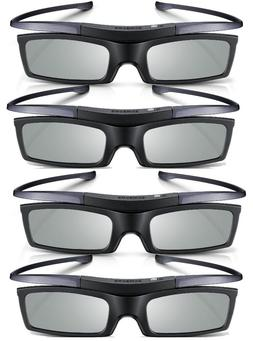 Lot of 4 New Samsung 4K HD UHD SUHD 3D Active TV Glasses SSG