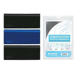 iBenzer Microfiber Cleaning Cloths, 3 Pack MF01S-3P