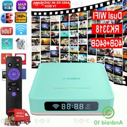 4+64GB Smart TV BOX A95X Android 10.0 OS Dual WIFI RK3318 4K