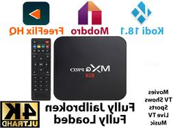 MXQ Pro 4K 3D Android 7.1 Smart TV Box S905W Quad Core HDMI