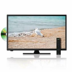 """New Axess 22"""" HDTV LED LCD Television DVD Player 3D Comb Fil"""