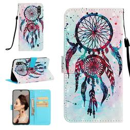 New Cute 3D Wallet Leather case cover for Samsung M10 M20 LG