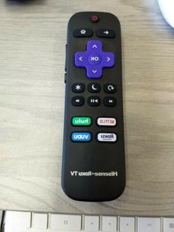 NEW Hisense EN3D34H OEM Original Roku Smart TV Remote Contro
