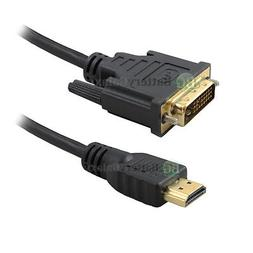 NEW HDMI 1.4 TO DVI PREMIUM CERTIFIED CABLE 3FT For TV LCD D
