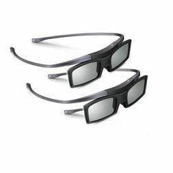 New Lot of Two  Original 3D Glasses SSG-5100GB for Samsung 4