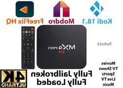 MXQ Pro 4K Ultra HD 3D 64Bit Wifi Android 7.1 Quad Core Smar