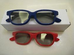 New Two Pairs Kids New 3D Glass For LG Passive polarized 3D