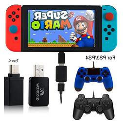 Nintendo Switch Game Controller Joy Con Converter with OTG T