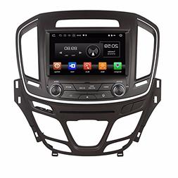 "Glyqxa Octa Core 8"" Android 8.0 Car Radio DVD GPS for Opel I"
