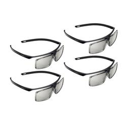 Pack of 4 Genuine TDG-500P Passive 3D Glasses TGD500P for So