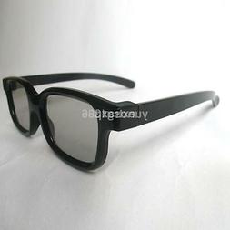 Passive 3D Glasses Black For RealD Cinema 3D TV Philips Pana