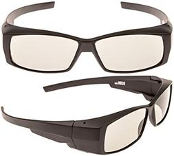 Better quality passive 3D glasses, for LG, Panasonic, Vizio