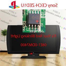 Sony Playstation 3D TV Blinking Red Light Fix 08E1-0DM7400 E