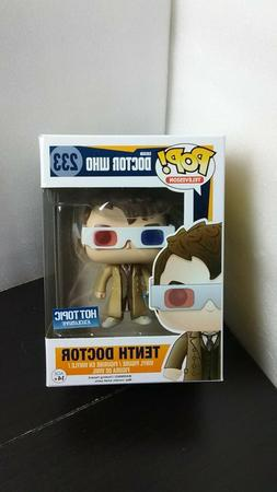 Funko POP Television 233 Doctor Who Tenth 3-D Glasses Hot To