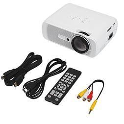 Auntwhale Portable G80 1080P HD 7000Lumens 1000: 1 LED LCD M