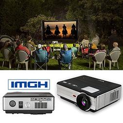 LCD Projector, by EUG 3500lumens Wxga LED Video Projector Ou