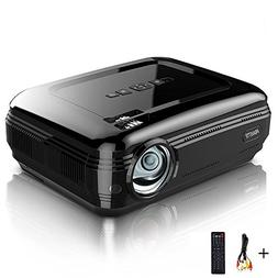 Video Projector PRAVETTE 1080P LED LCD Mini Projector with +