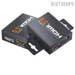 Proster 4Kx2K 2.0 HDMI Repeater HDMI Extender 1080P <font><b