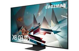 "Samsung QN65Q800TAFXZA 65"" 8K QLED Smart TV - Titan Black QN"