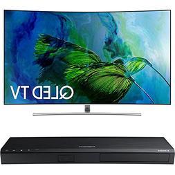 Samsung QN65Q8C Curved 65-Inch 4K Ultra HD Smart QLED TV w/
