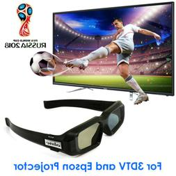 Rechargeable Active 3D Glasses Blue-tooth for 3D TVs LG Sony
