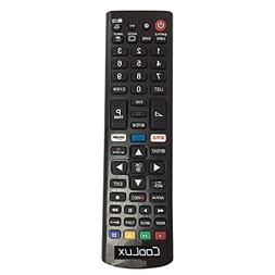 New Remote Control With Netflix and Amazon Keys Replacement